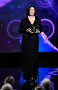 Angelika Amon holds the breakthrough prize