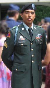 Omar Rutledge portrait in Army dress